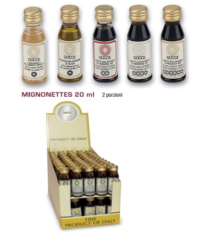 Balsamico Bianco in Mini bottiglia - K0784 (20 ml - 0.67 fl.oz) - 2